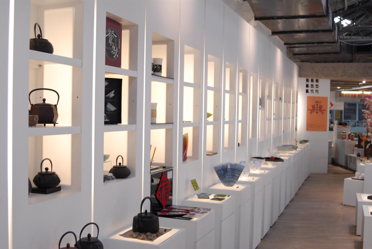 許新旺陶瓷紀念博物館館內展示