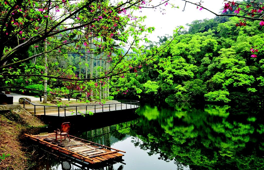 【後慈湖】  後慈湖生態保持完整,園區內重現歷史生態與蔣氏家族的人文生活,來到此地彷彿置身人間仙境、世外桃源。