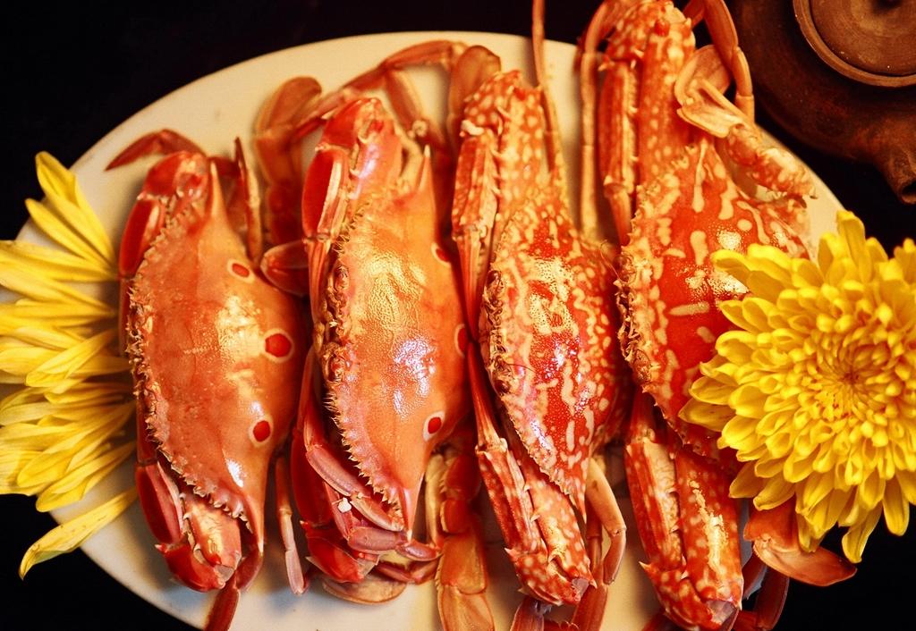 後浦的地方美食都散發著海洋的味道,鮮美的金門螃蟹是風味餐的主角。