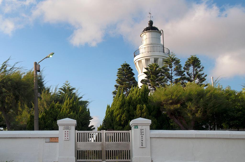 白沙岬燈塔正門