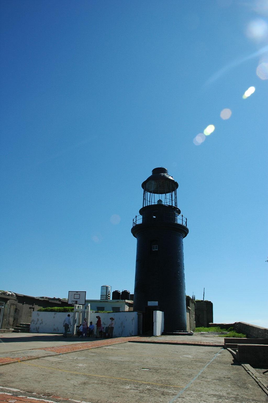 遠眺東椗島燈塔
