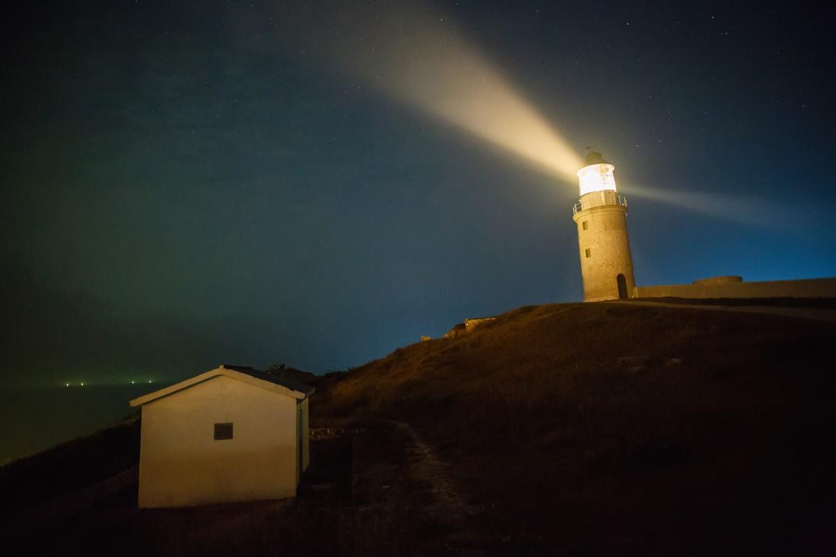 東莒島燈塔夜景