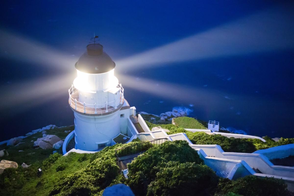 東引島燈塔夜景
