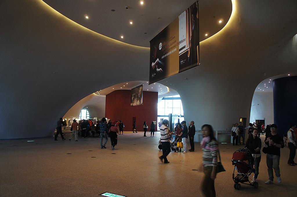 臺中國家歌劇院內部