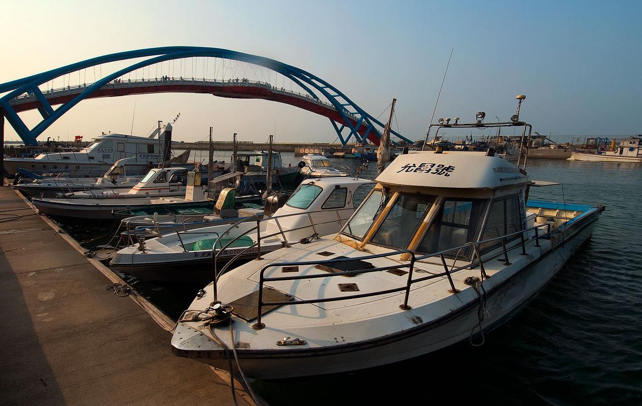 Puerto pesquero de Yongan