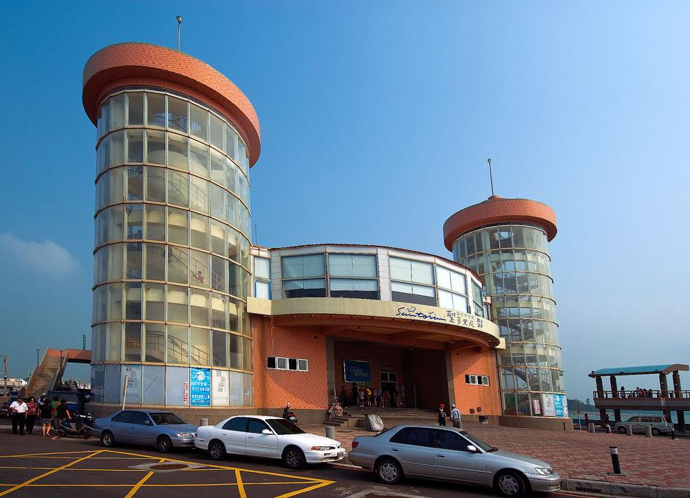 永安漁港觀光漁市大樓
