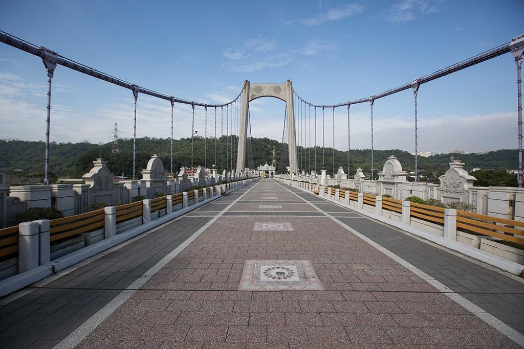 大溪橋橋面