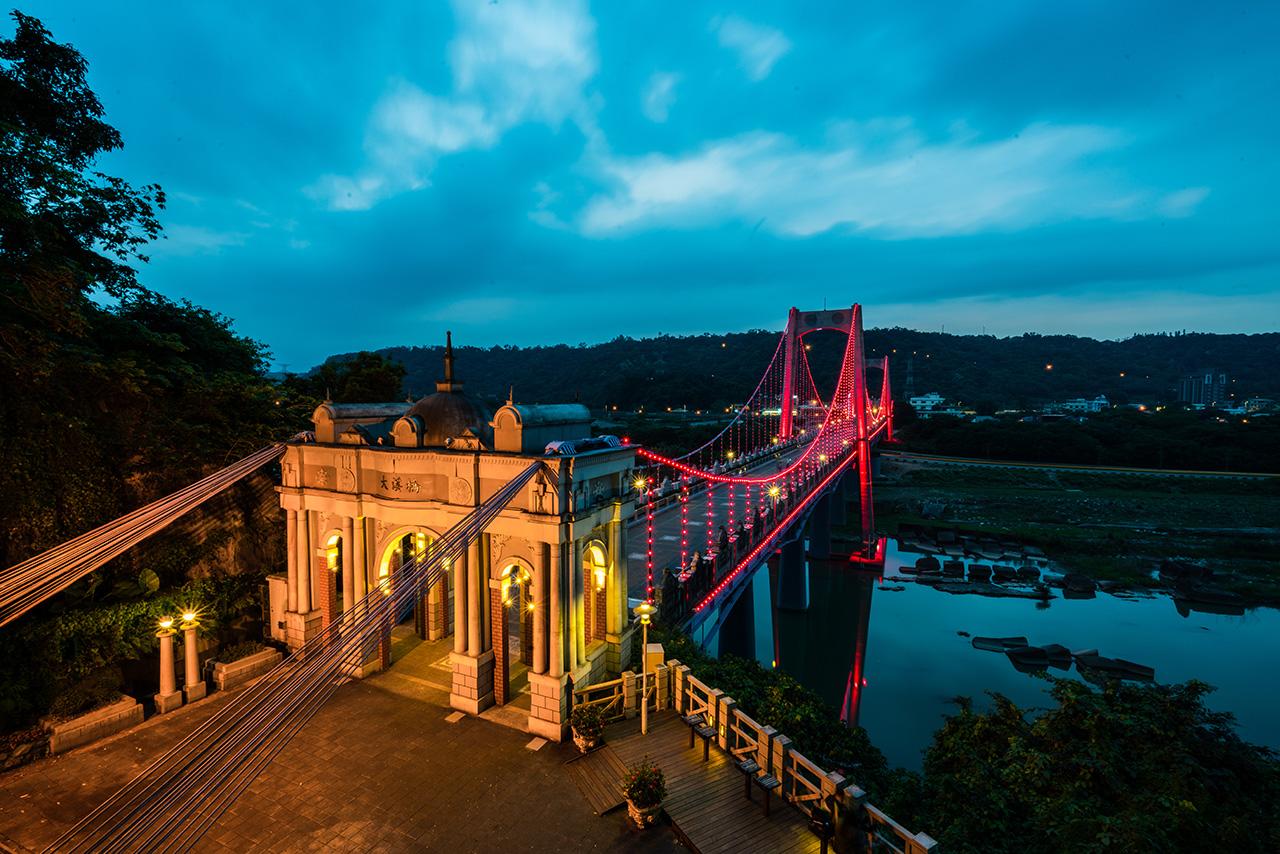 大溪橋夜景