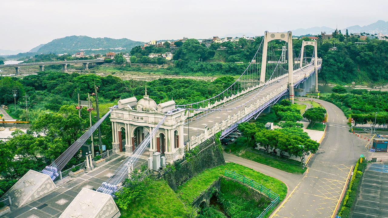 大溪橋空拍