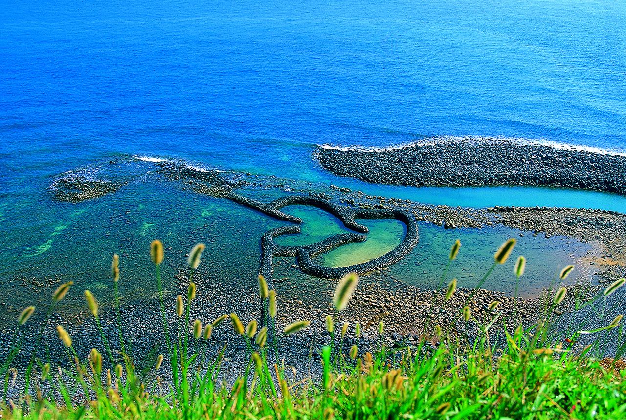 雙心石滬 澎湖景點