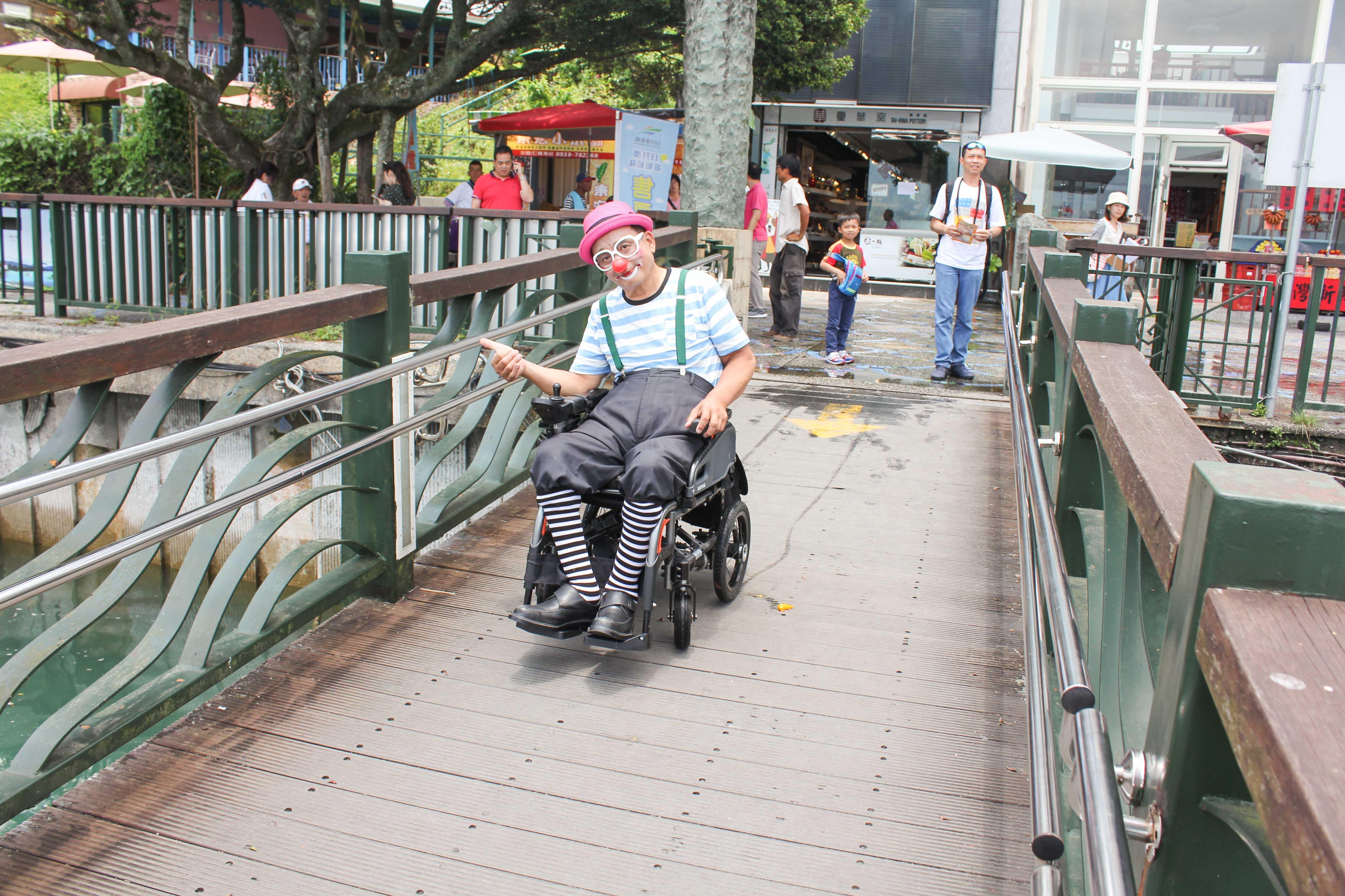 碼頭輪椅通道