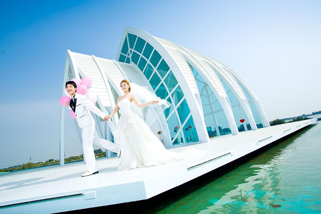 水晶教堂拍婚紗