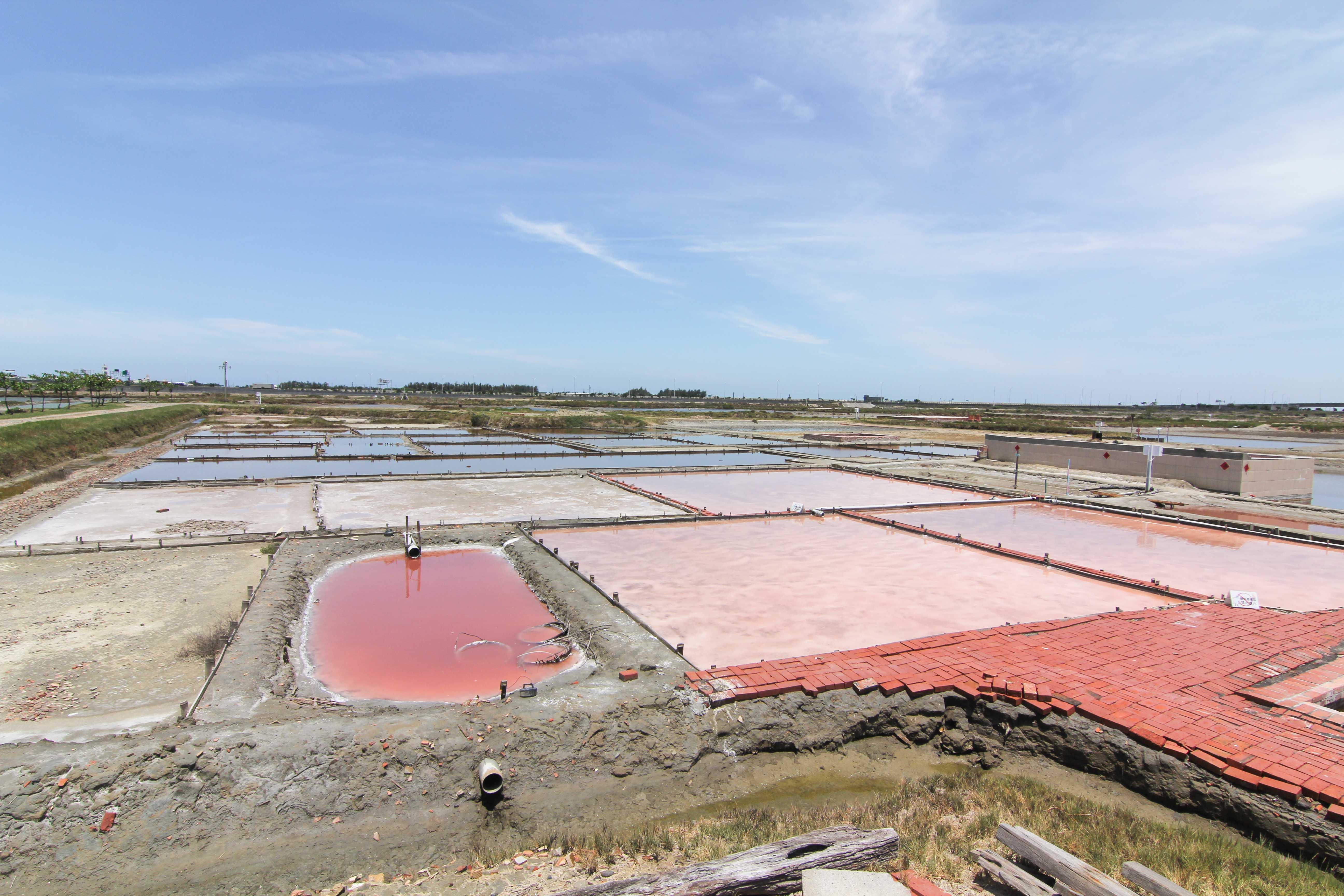 Exterior View of Zhounan Salt Field