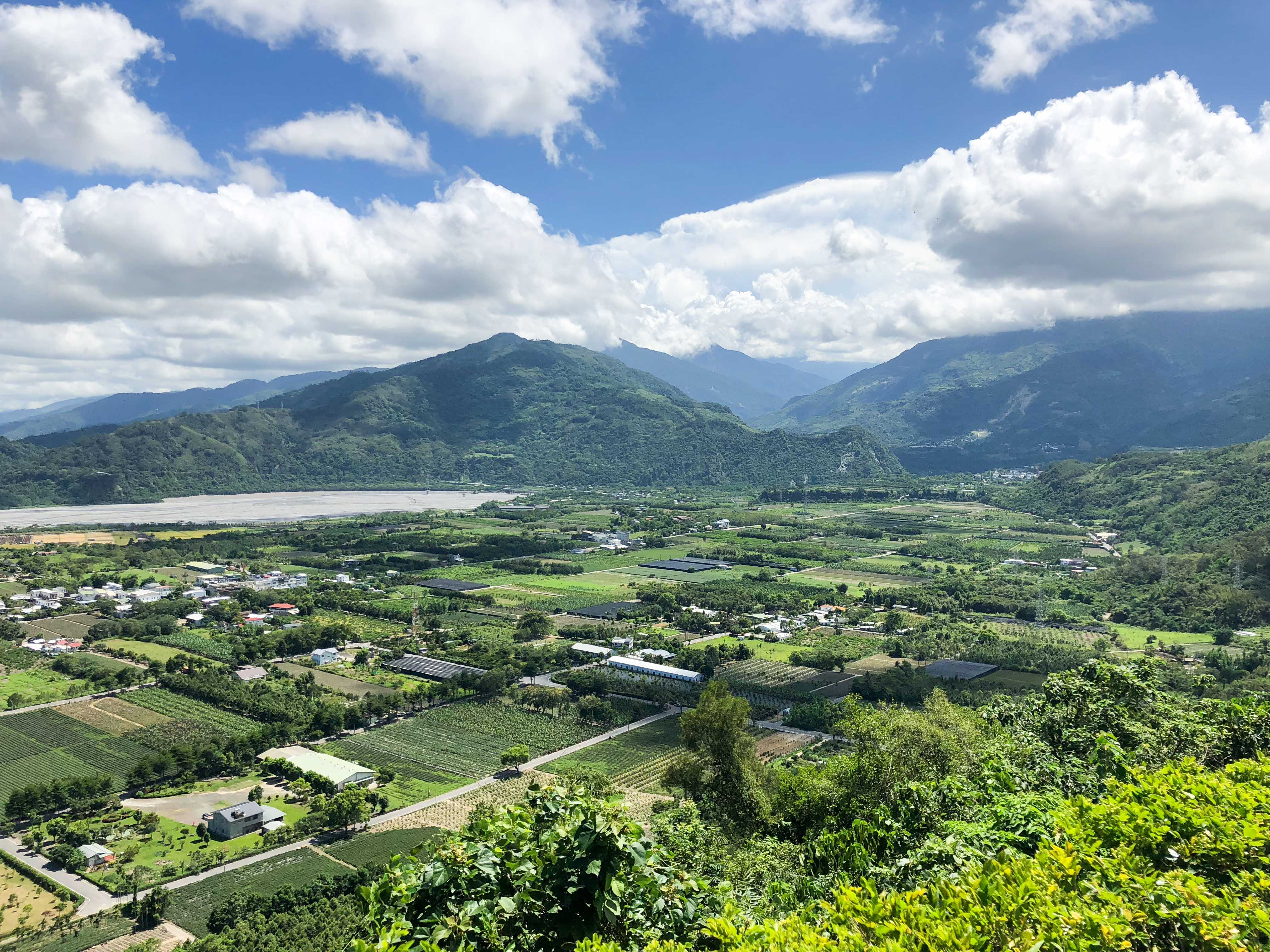 鹿野高台遠眺環境