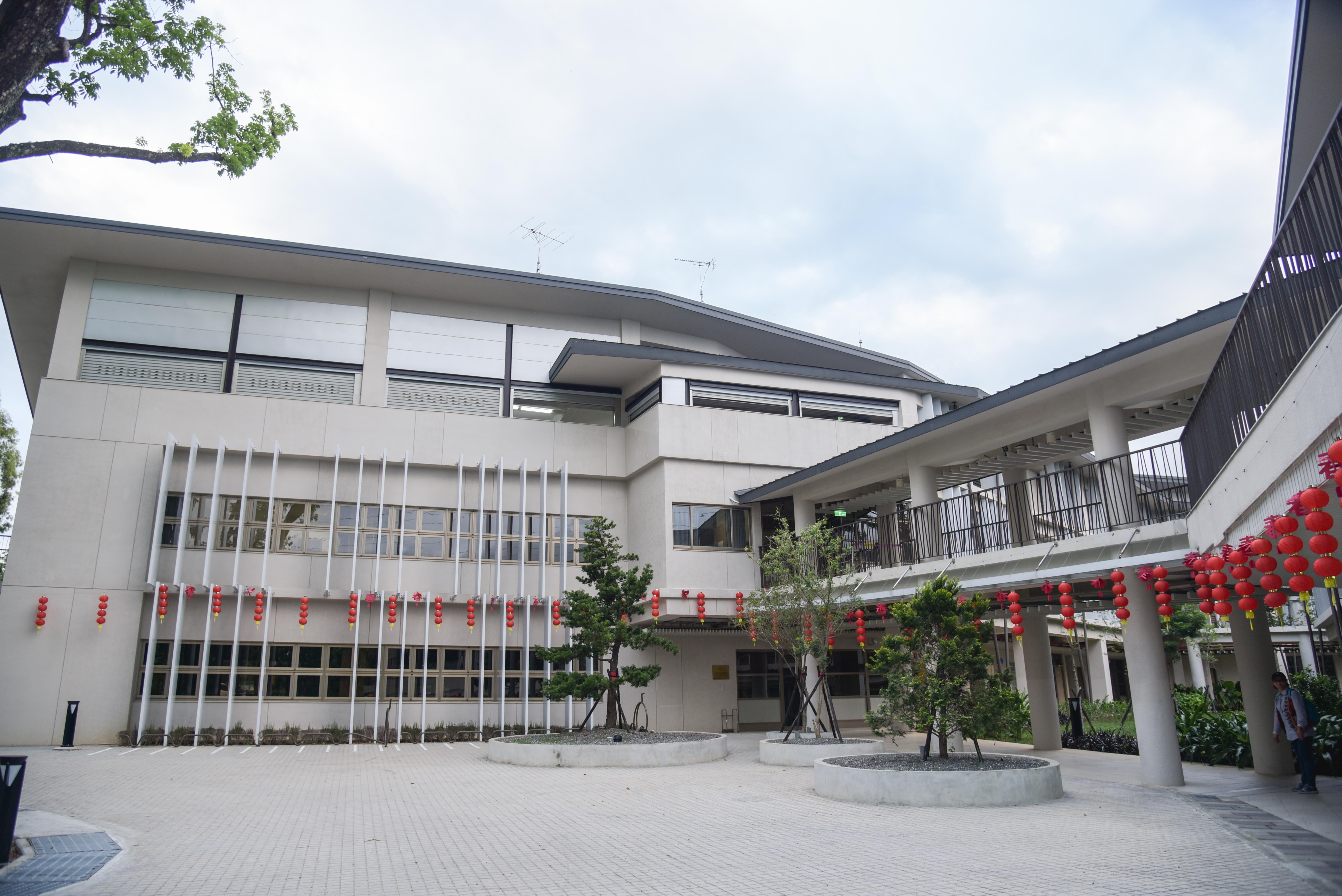 新威遊客中心建築