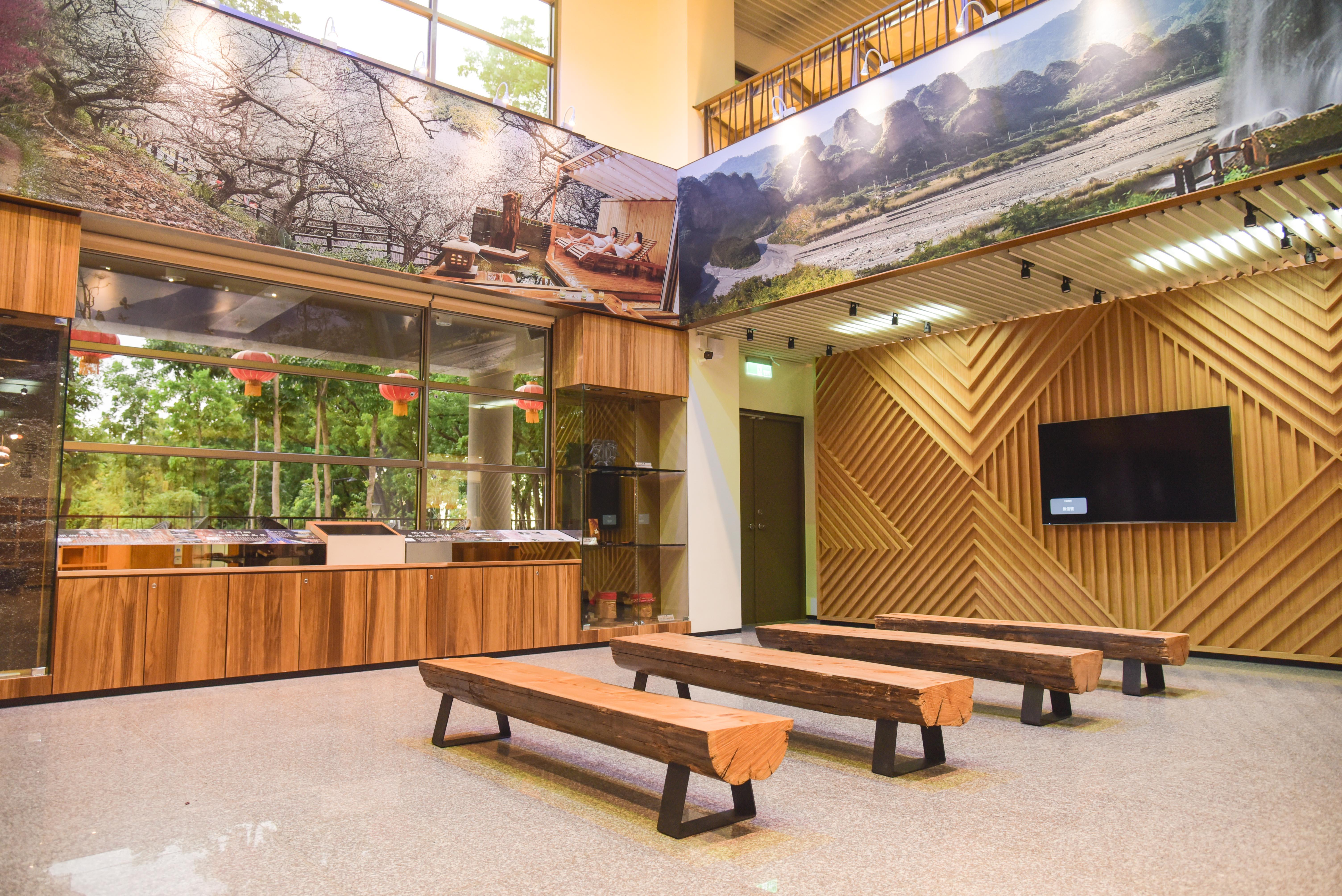 新威遊客中心視聽室