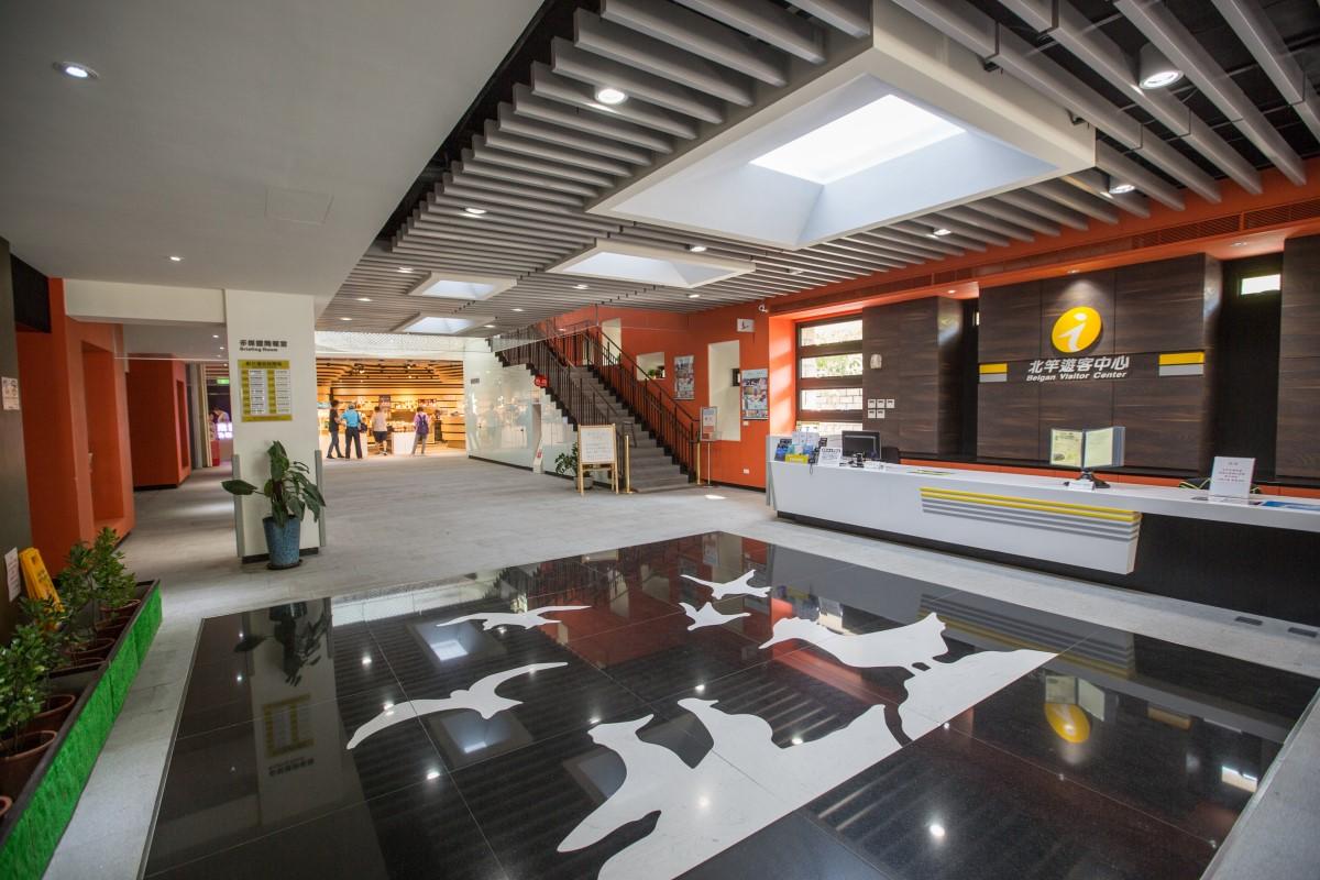 北竿遊客中心服務台