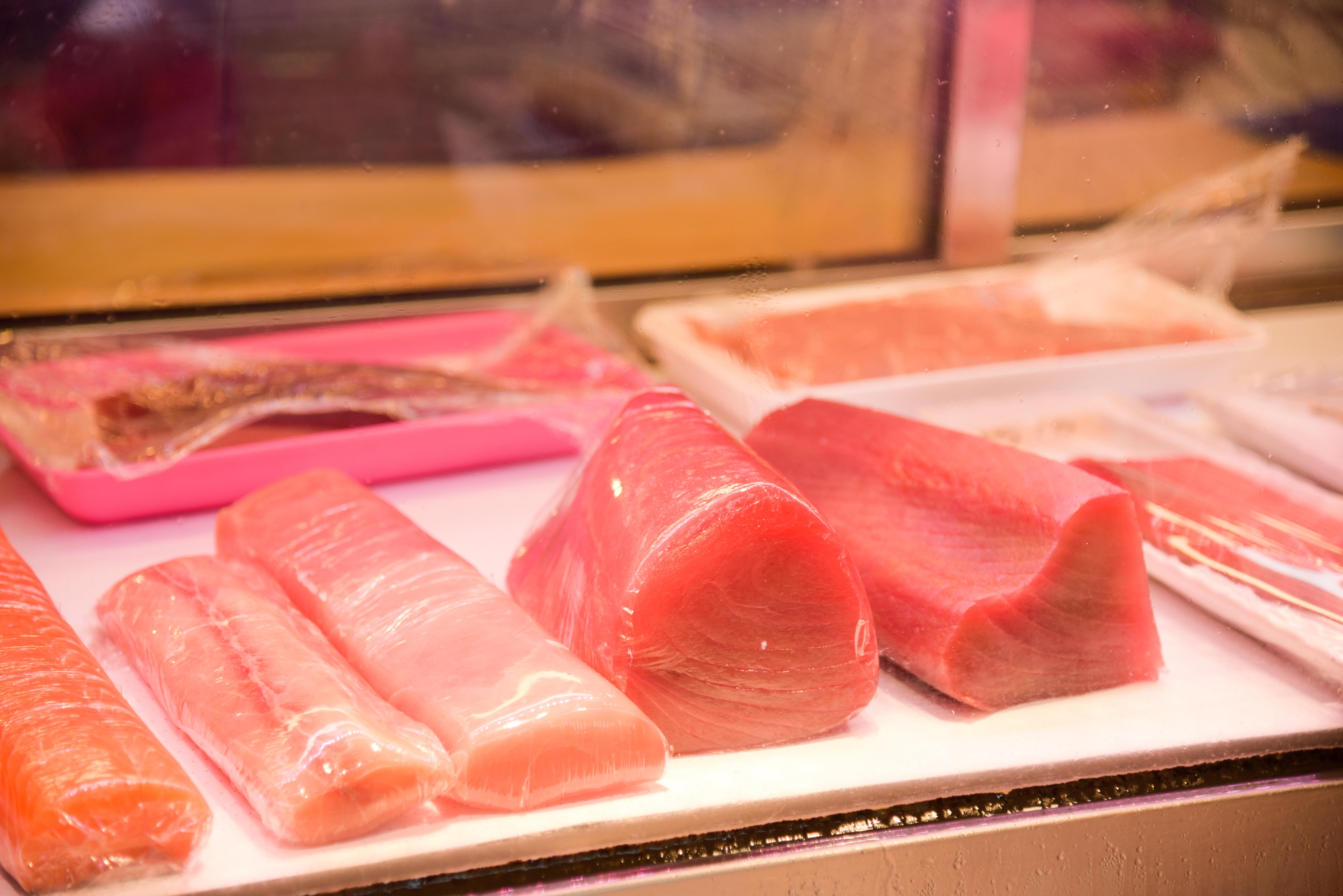 市場生魚片