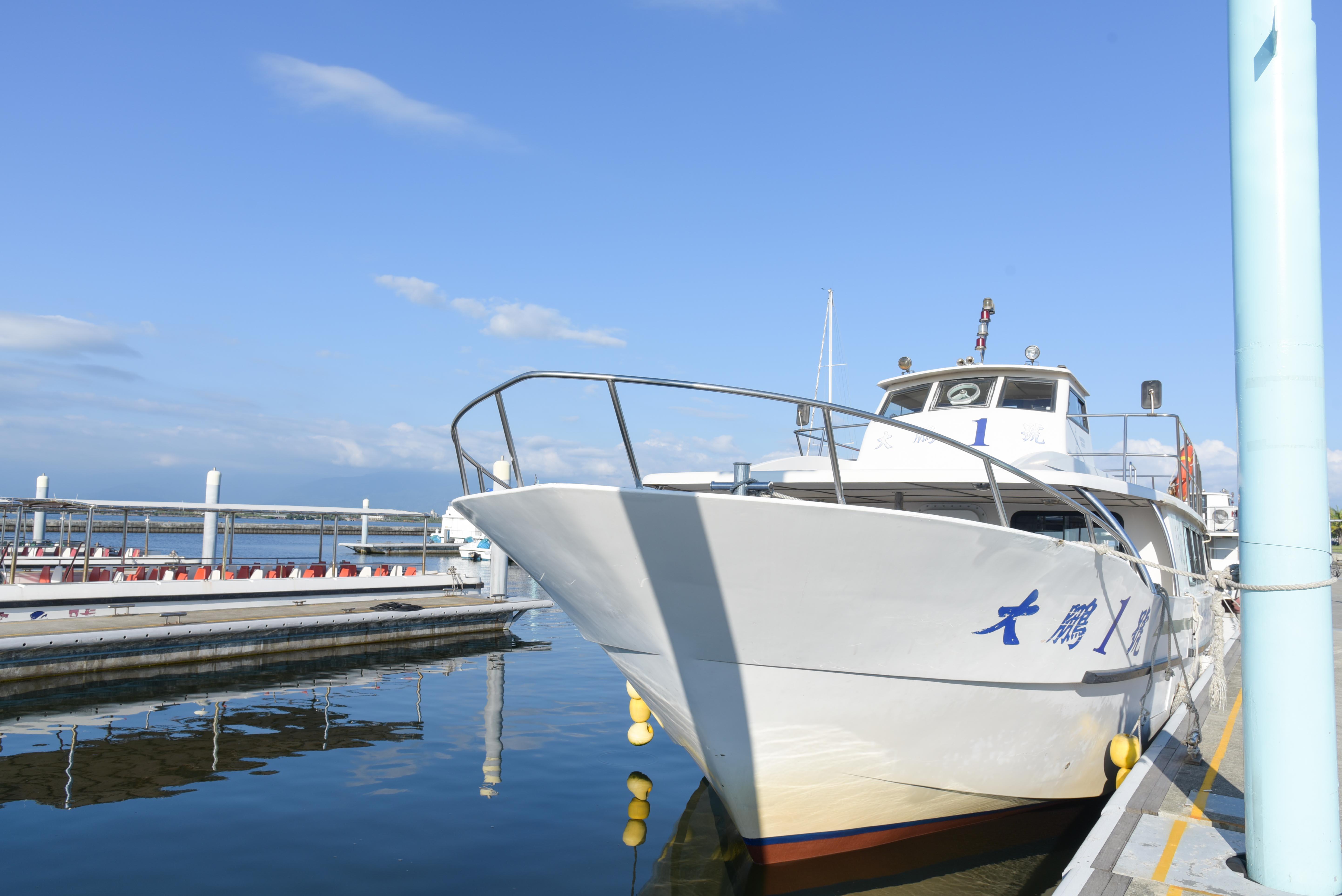 濱灣公園遊艇外觀