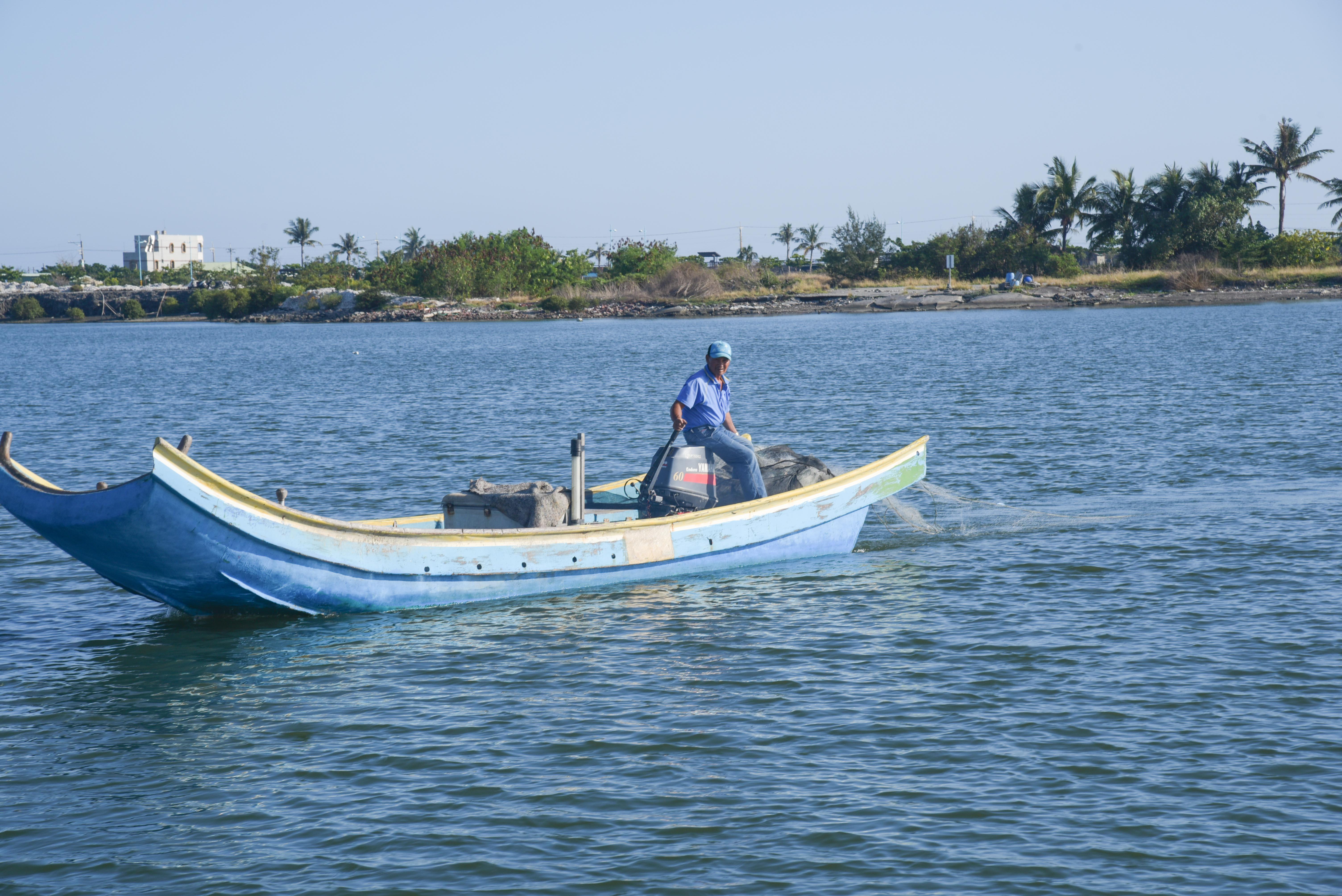 濱灣公園漁船