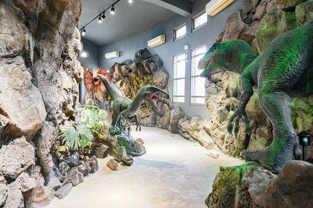 小門地質探索館室內展區