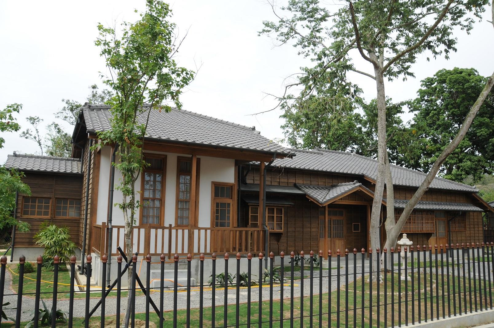 園區內日式宿舍