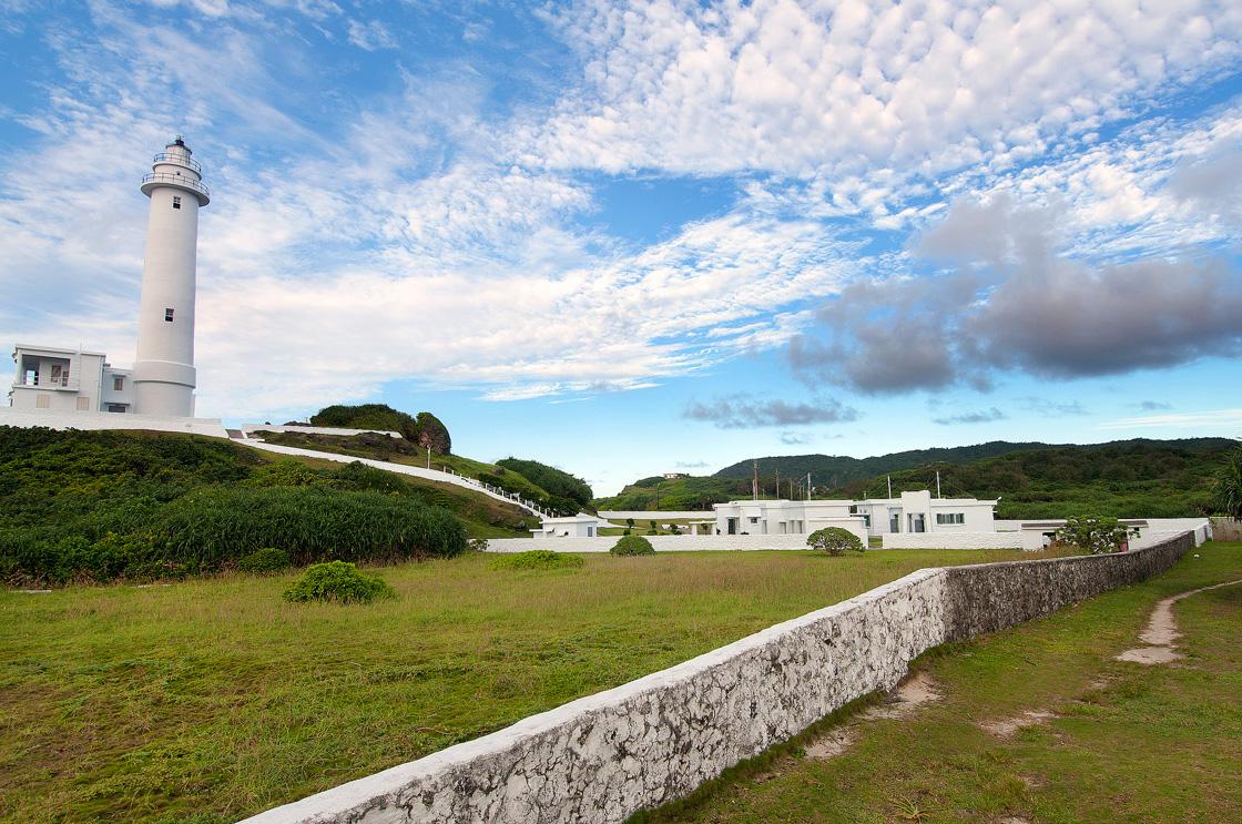 綠島燈塔美景