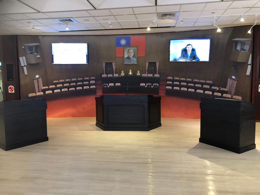 第五展區-立法院模擬議場