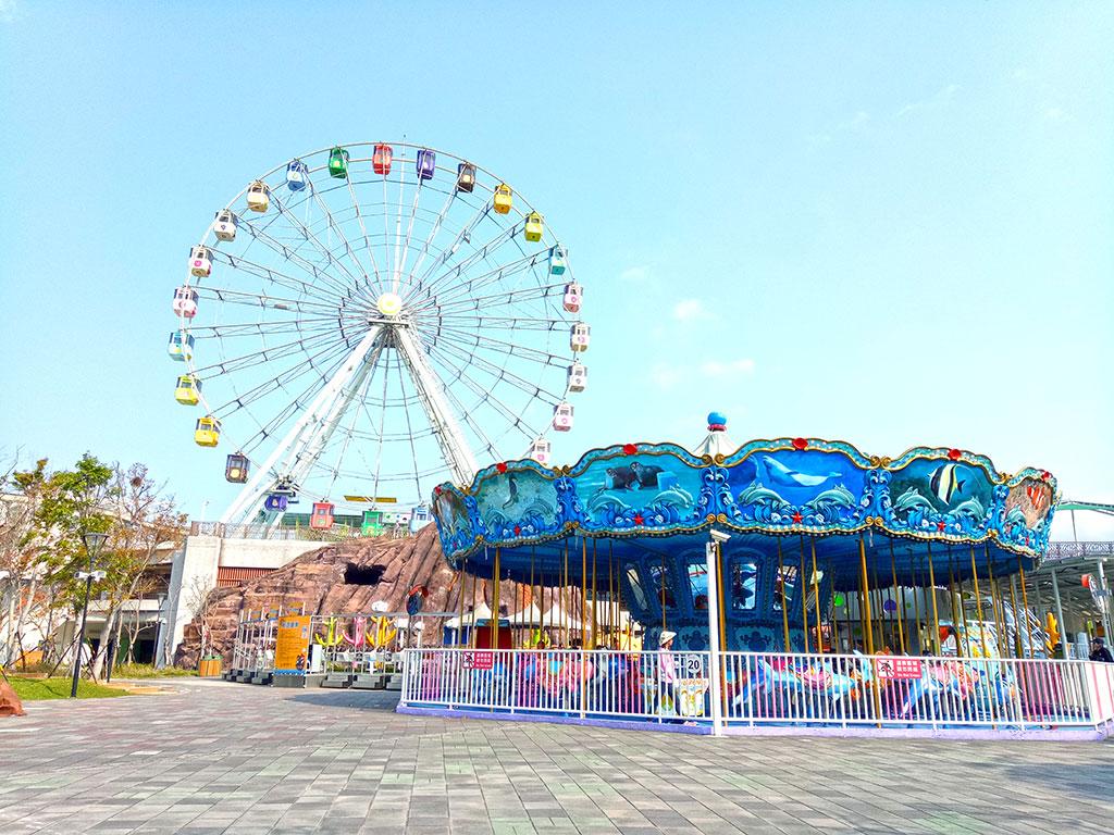 遊樂設施-水果摩天輪與海洋總動員