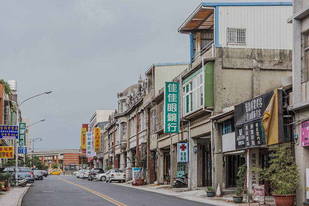 中正路老街區店家