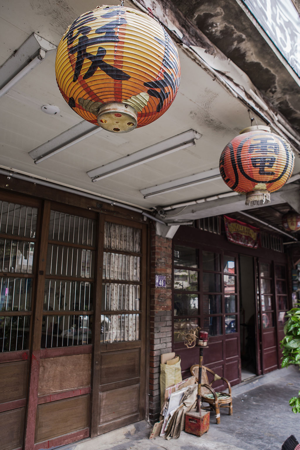 舊時理髮店