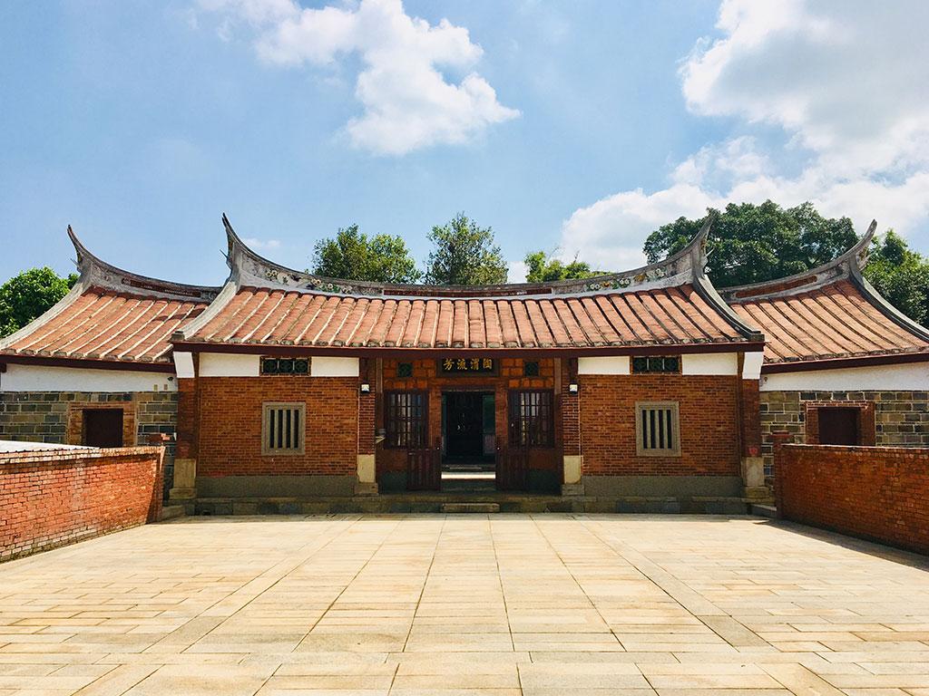 范姜祖堂為全臺范姜族人的祭祀中心