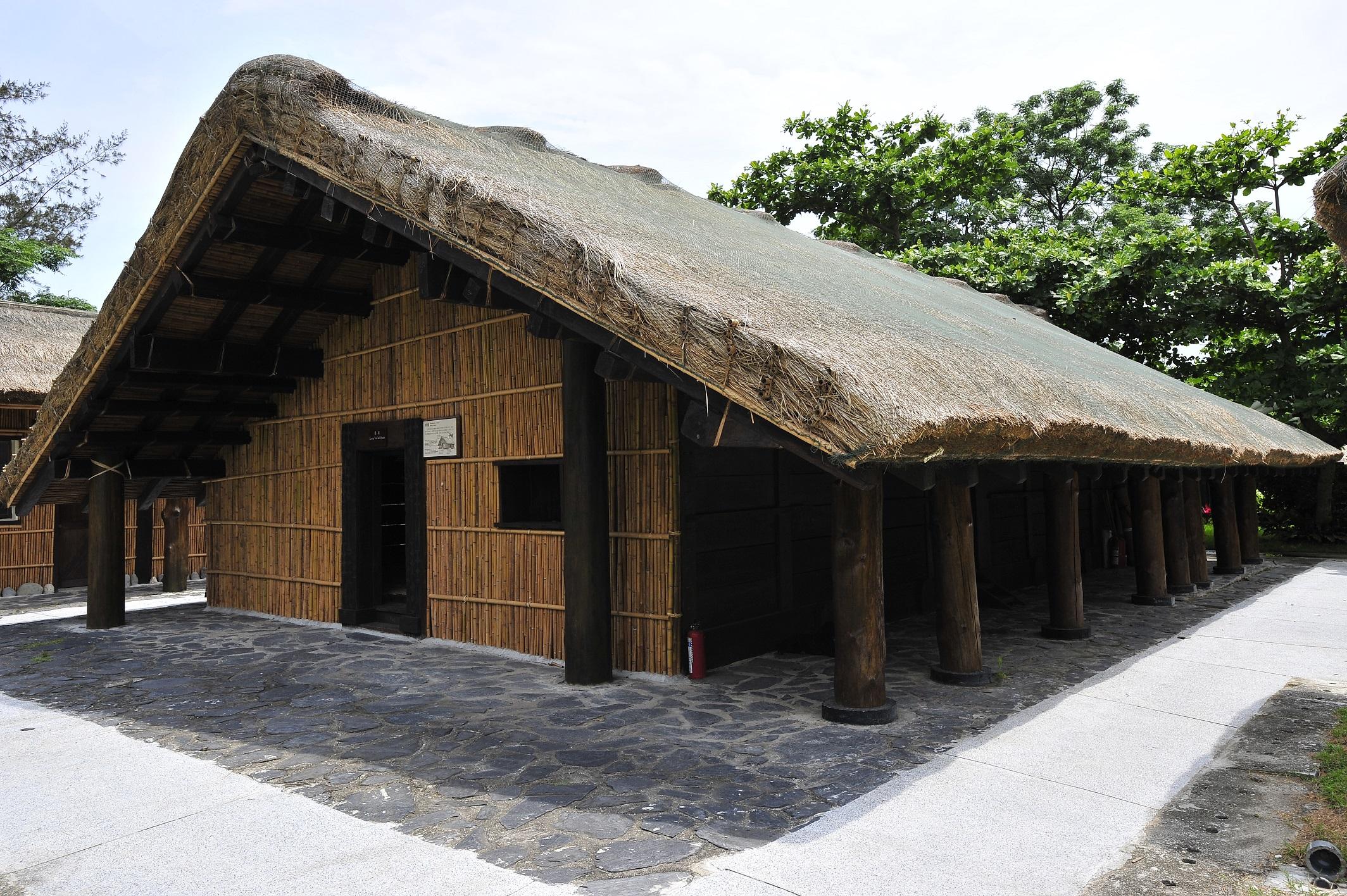 阿美族民俗中心祭屋