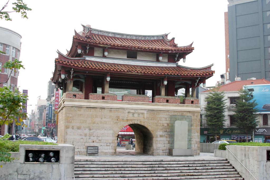 竹塹城迎曦門
