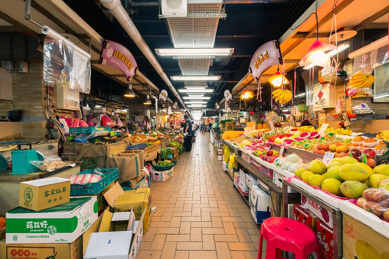 永樂市場內