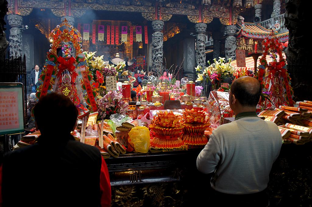 三峽清水祖師廟祈福