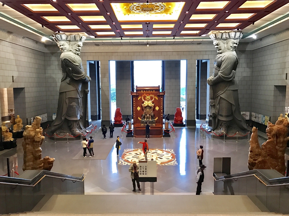 中台禪寺內