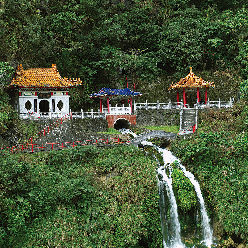 Taroko National Park--Changchun Temple