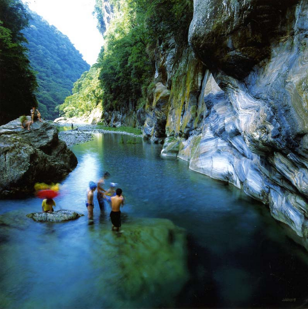 Taroko National Park--Shakadang (Mystery Valley) Trail