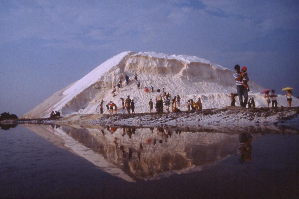 Qigu Salt Mountains