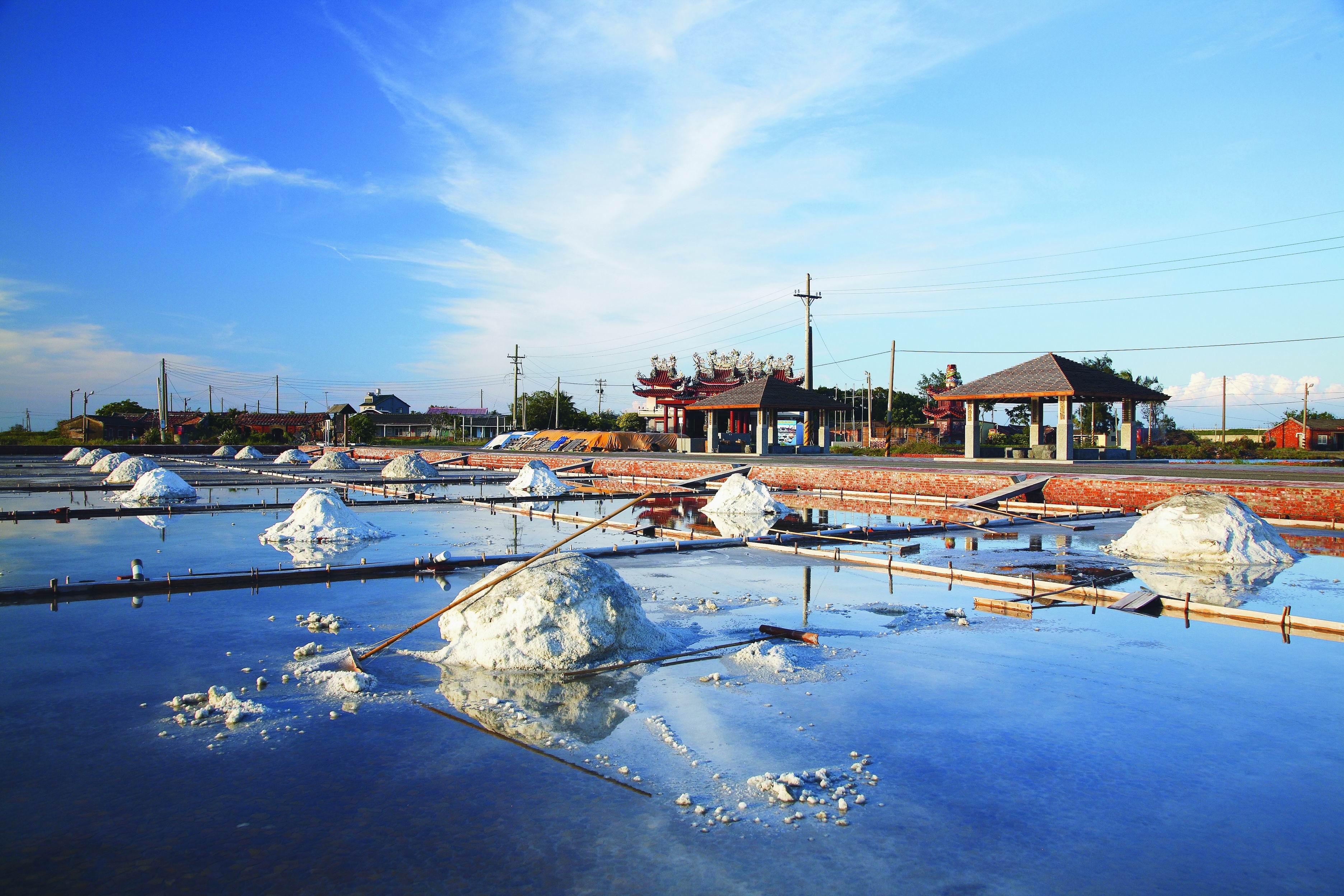 Jingzaijiao Tile-paved Salt Fields