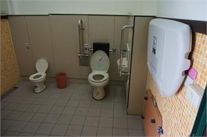 雲台山軍情館 - 無障礙廁所
