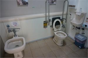 南竿遊客中心 - 無障礙廁所