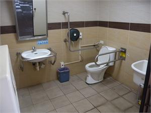 北海遊客中心 - 無障礙廁所