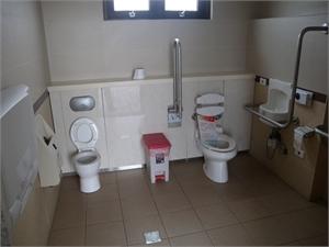 二崁傳統聚落 - 無障礙廁所