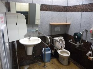 馬公機場 - 無障礙廁所