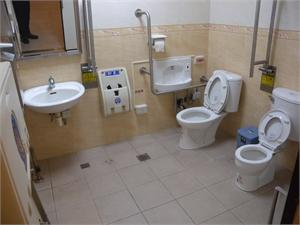 澎湖遊客中心 - 無障礙廁所