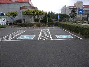 澎坊免稅商店 - 無障礙停車位