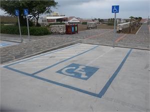 二崁傳統聚落 - 無障礙停車位