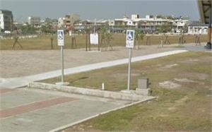 北門遊客中心無障礙停車位
